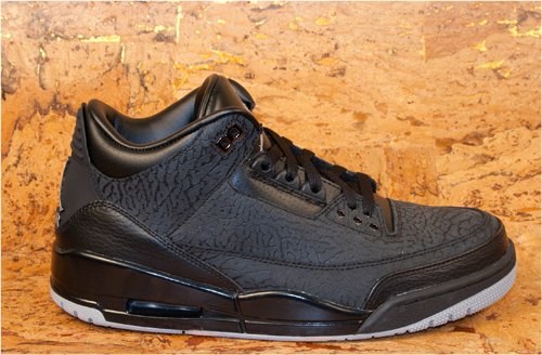 Air Jordan III (3) 'Black Flip' Restock at Packer Shoes