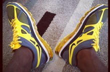 Celebrity Sneaker Watch: LeBron James In The Air Max+ 2012