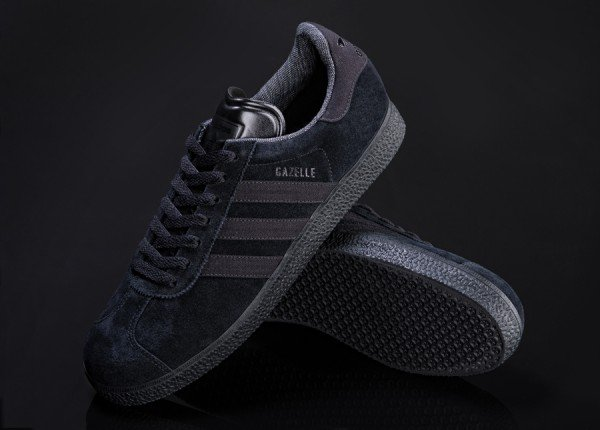 adidas Originals Gazelle  Black Pack   c538677e2f77