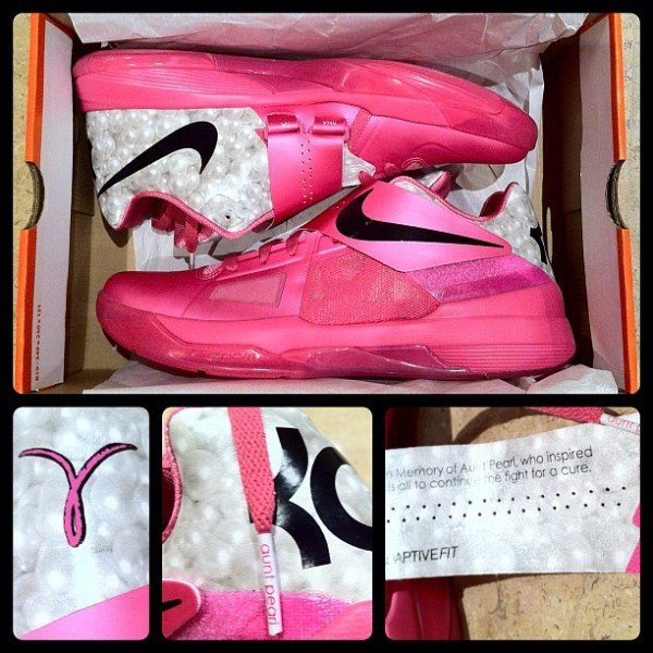 Nike Zoom KD IV 'Aunt Pearl' - Another Look