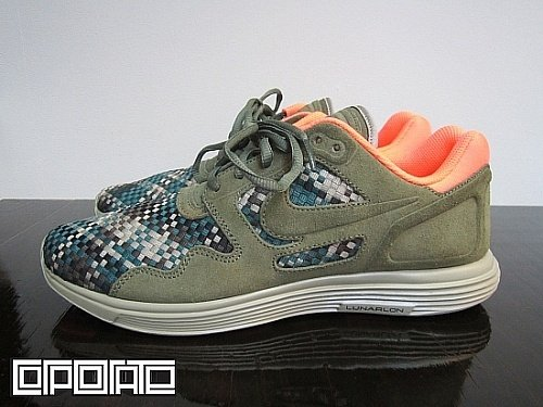 finest selection 782b1 37e79 Nike Lunar Flow Woven QS 'Olive/Black-Bamboo' - Release Date + Info ...