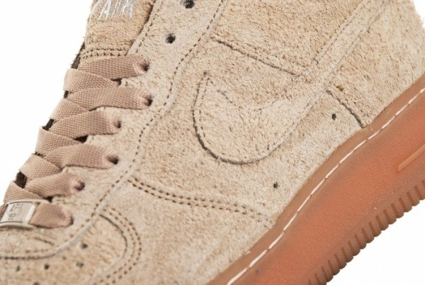 Nike Air Force 1 Low Beige Suede