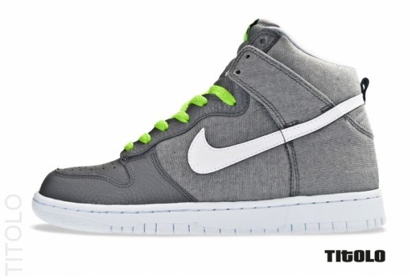 Nike Dunk High 'Wolf Grey/White-Cool Grey'