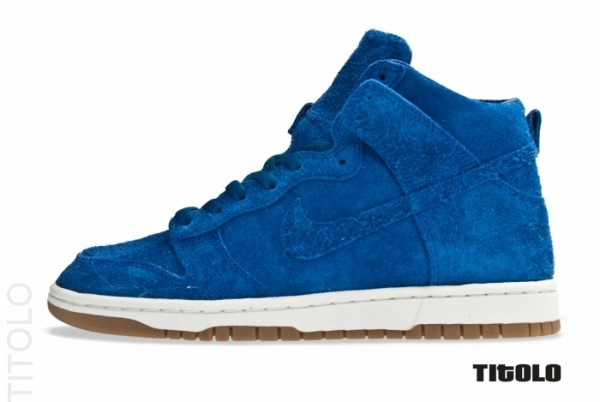 Nike Dunk High Deconstruct PRM 'Old Royal'