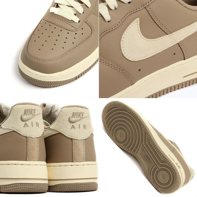 quality design f2d95 f7486 ... Nike Air Force 1 Low Khaki Cashmere SneakerFiles ...