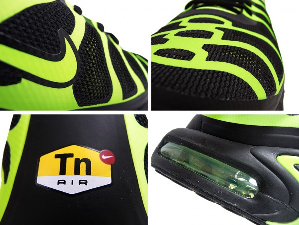 Nike Air Max Plus Fuse 'Black/Volt'
