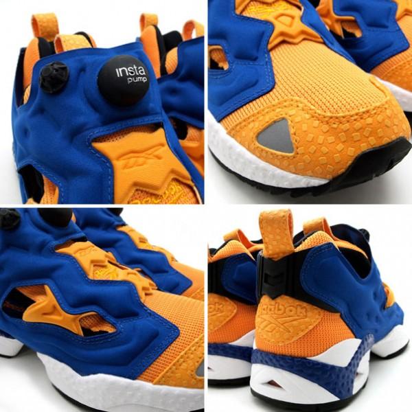 Reebok Insta Pump Fury 'Orange/Blue-White'
