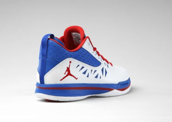 Jordan CP3.V 'White/Sport Red-Treasure Blue'