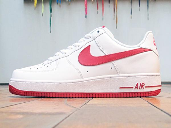 Nike Air Force 1 Low 'White/Gym Red'