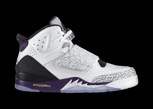Release Reminder: Jordan Son of Mars 'White/Club Purple-Cool Grey'