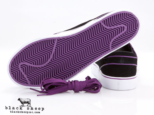 Nike SB Stefan Janoski 'Black/Vintage Purple-White' - Now Available
