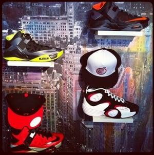 Nike Air Flight One 'White/Black-Wolf Grey-Red'