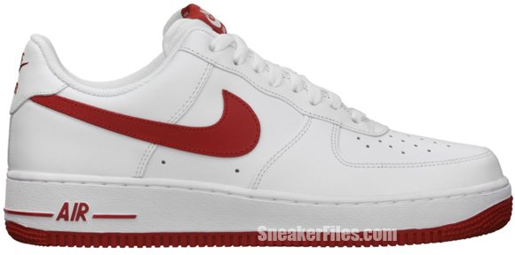 Release Reminder: Nike Air Force 1 Low 'White/Gym Red-White'