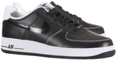 Release Reminder: Nike Air Force 1 Low 'Black/Black-White'