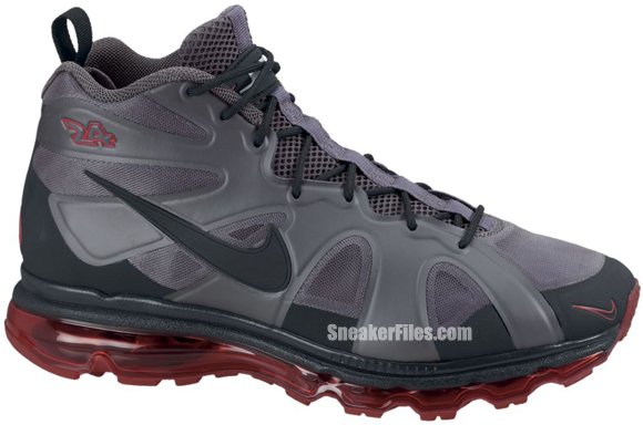Nike Air Max Griffey Fury 'Dark Grey/Black-University Red-Black'