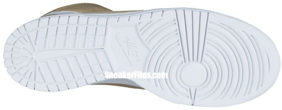 Nike Dunk High 'Jersey Gold/White-Iguana'