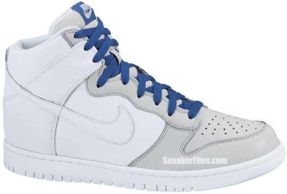Nike Dunk High 'White/White-Neutral Grey'