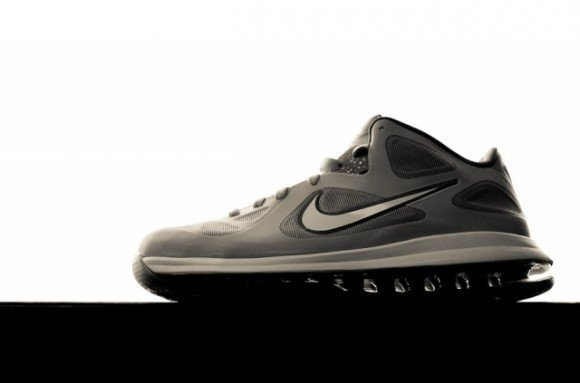 Nike LeBron 9 Low 'Grey/White-Black'