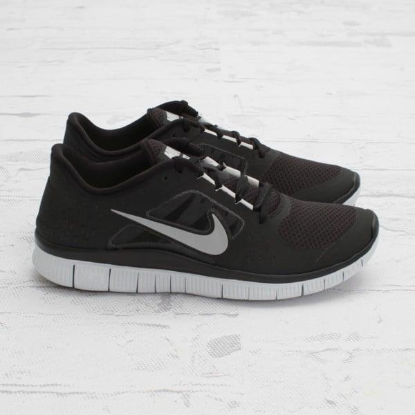 Nike Free Run+ 3 'Black/Reflective Silver-Platinum'