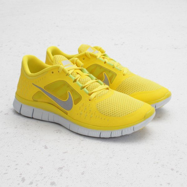 buy online 4d373 5a7b1 Nike Free Run+ 3  Charm Yellow  - Now Available at Concepts