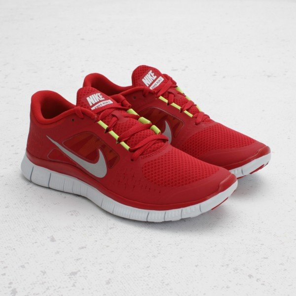 huge selection of 01d76 7d79b Nike Free Run+ 3  Gym Red  - Now Available at Concepts