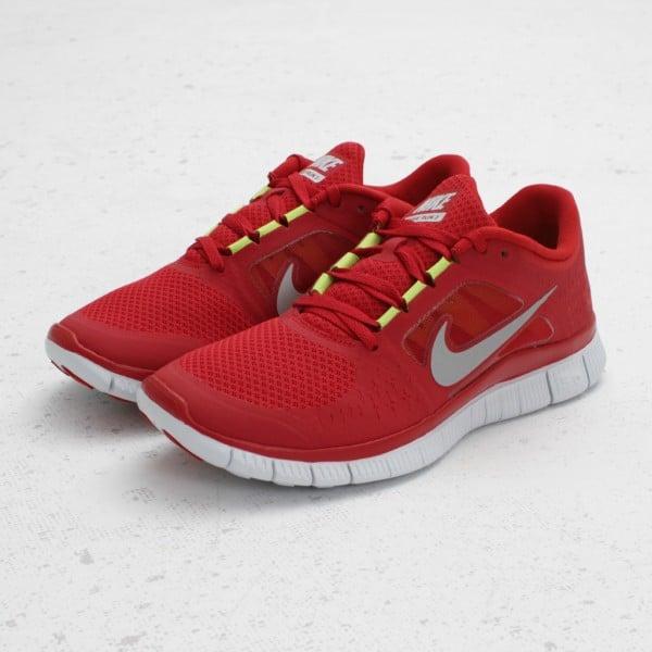 nike free run 3 red