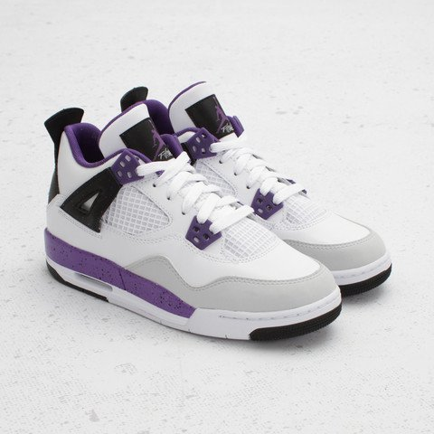 Air Jordan IV (4) GS 'Ultraviolet' - Now Available