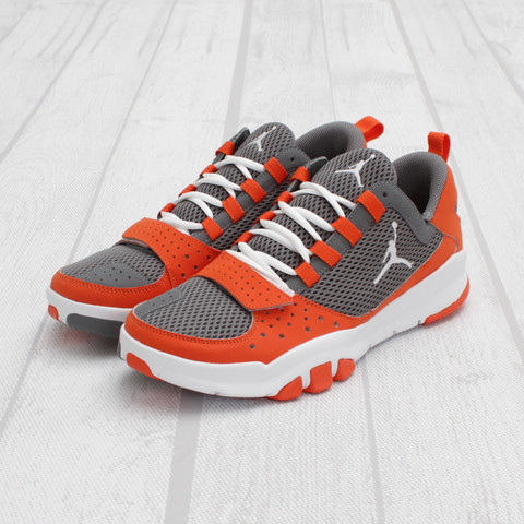 Jordan Trunner Dominate 'Cool Grey/White-Team Orange'