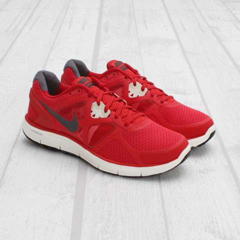Nike LunarGlide+ 3 'University Red/Dark Grey'