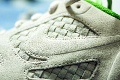 Nike Lunar Flow Woven 'Birch/Green Apple'