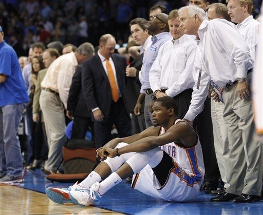 Kevin Durant Dons N7 Signature in Loss to Clippers