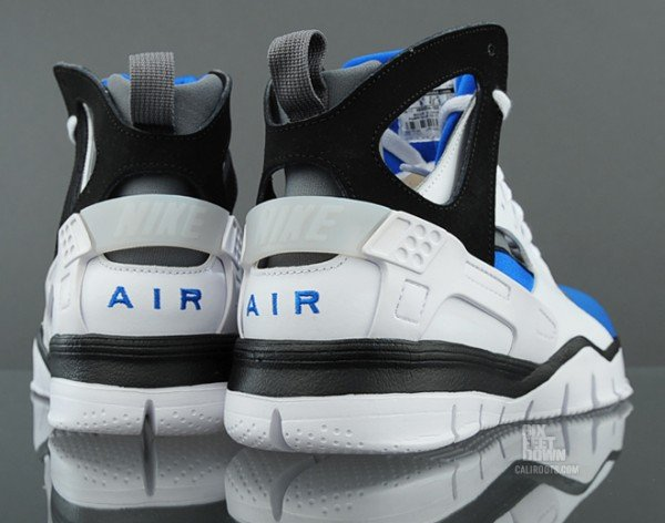 Nike Air Huarache BBall 2012 'White/Black-Soar' - Now Available