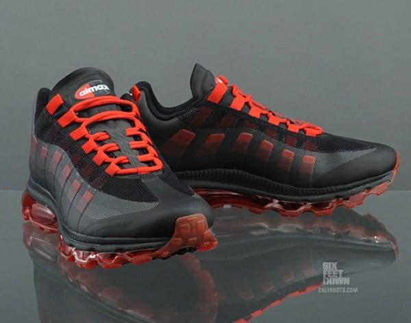 Nike Air Max 95+ BB 'Black/Sport Red' Hitting Overseas Retailers