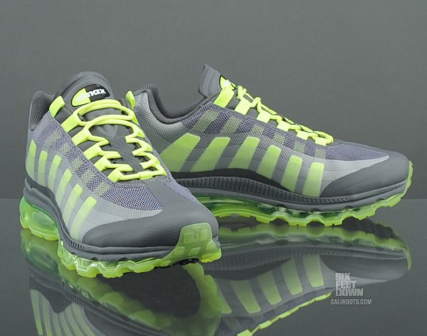 Nike Air Max 95+ BB 'Grey/Volt' Hitting Overseas Retailers