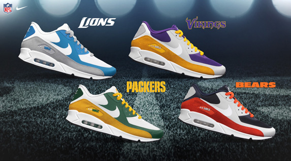 Release Reminder: Nike Air Max 90 Premium 'NFC North'