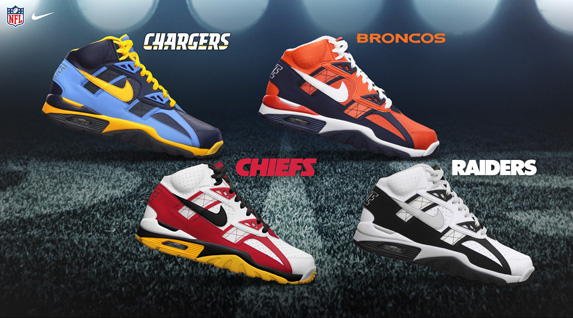 Release Reminder: Nike Air Trainer SC 'AFC West'