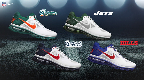 5fe09ccc51 Release Reminder: Nike Trainer 1.3 Max Breathe 'AFC East' | SneakerFiles