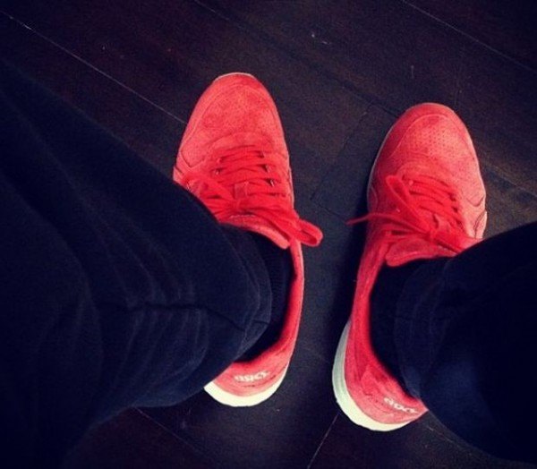 Ronnie Fieg x asics GT-II 'Super Red 2' - Another Look