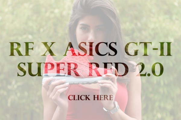 Ronnie Fieg x ASICS GT-II 'Super Red 2.0' - Release Date + Info