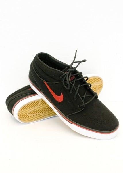 Nike SB Stefan Janoski Mid 'Black/Sport Red'