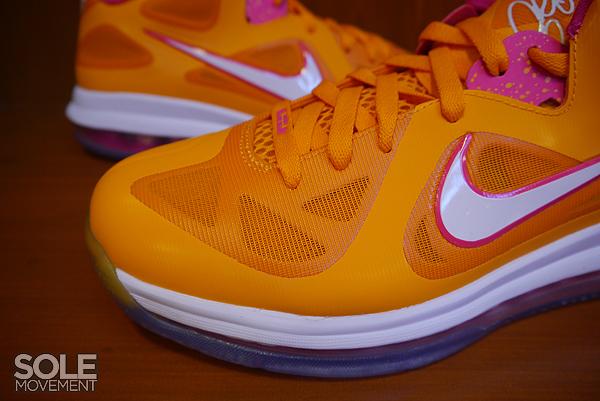 Nike LeBron 9 Low 'Vivid Orange/Cherry' - Detailed Look