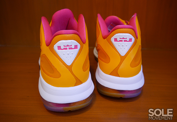 Nike LeBron 9 Low 'Vivid Orange/Cherry' - Detailed Look