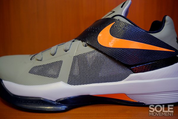 Nike Zoom KD IV 'Rogue Green/Total Orange-Black-Wolf Grey'