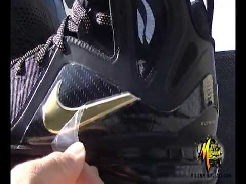 Video  Nike LeBron 9 P.S. Elite  Away  at Millennium Shoes ... 0b85a82aad