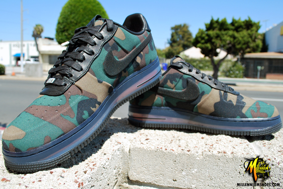 Nike Air Force 1 Low Max Air VT QS 'Camouflage' at Millenium Shoes