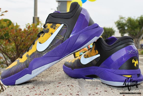 51d0106167ad Nike Kobe 7 Poison Dart Frog  Lakers  Arriving at Retailers ...