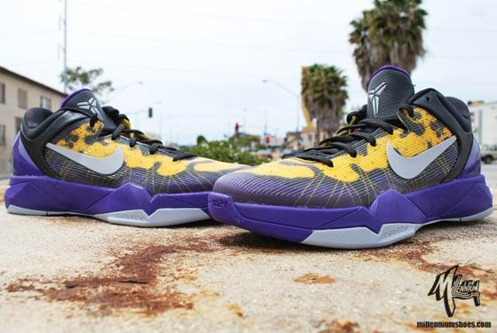 Nike Kobe 7 Poison Dart Frog 'Lakers' Arriving at Retailers
