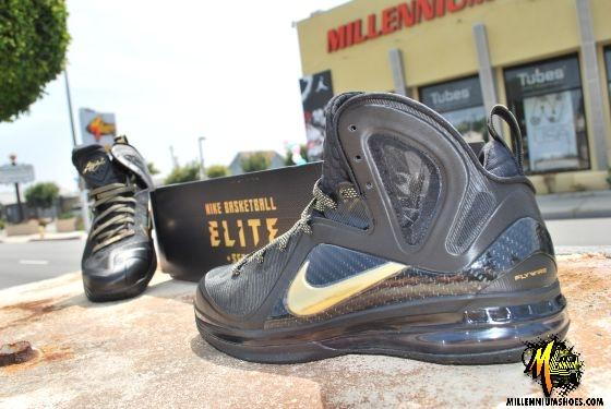 Nike LeBron 9 P.S. Elite 'Away' at Millennium Shoes