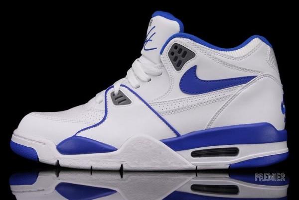 Nike Air Flight 89 'White/Cool Grey-Soar Blue'