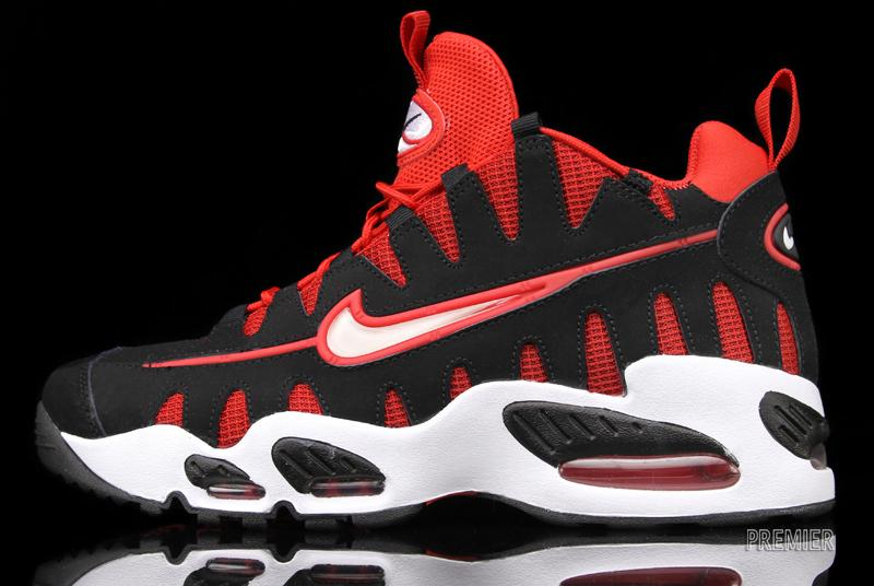 Nike Air Max NM 'Black/White-University Red' - Now Available